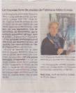 """Exposition """"Italia"""" de Fabienne Alliou-lucas, OUEST-FRANCE, ARTICLE /8:05:2017"""