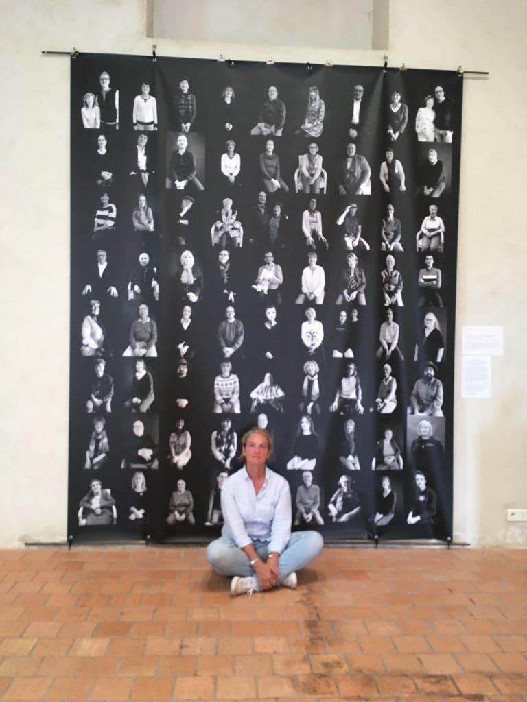 exposition #LIfe , Pornic, Fabienne Alliou lucas, accrochage projet photographique #Love Pornic 2019